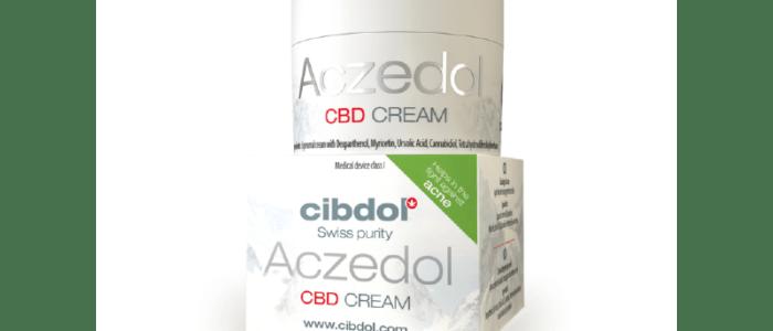 Crème Aczedol (50ml) Laboratoire Cibdol
