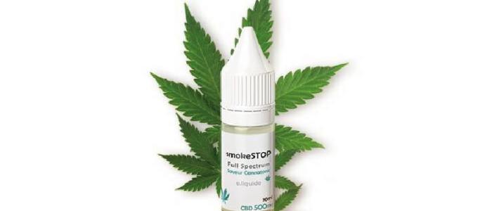 SmokeStop 500mg CBD Cannatonic