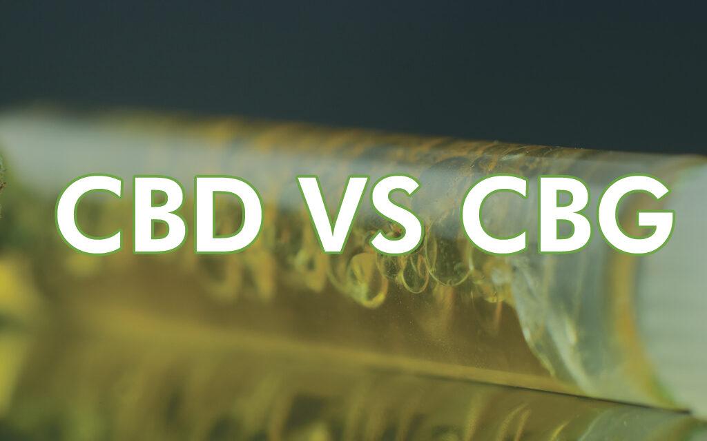 Distinguer le CBG du CBD