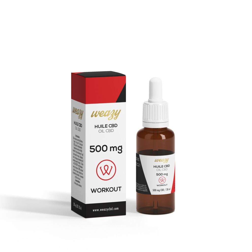 Huile sportive Workout - 30ml