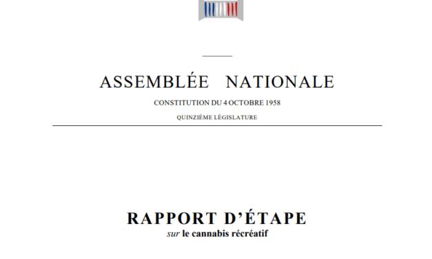 La Mission d'information préconise de légaliser le cannabis en France selon son rapport publié le 5 mai 2021 sur le cannabis récréatif